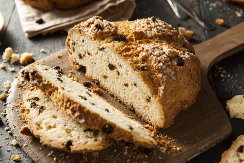 Irish soda Bread Awesome Irish soda Bread with Raisins Recipe