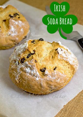 Irish Soda Bread  Easy Irish Soda Bread The Midnight Baker