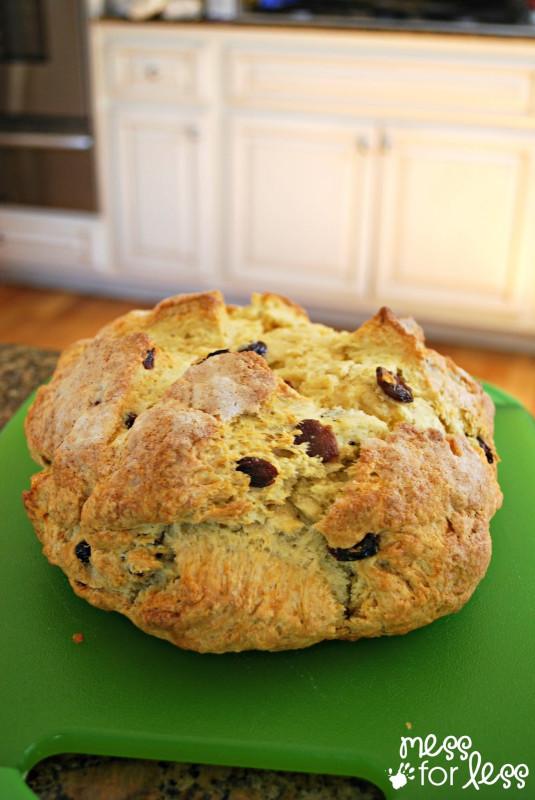 Irish Soda Bread  Irish Soda Bread Recipe Food Fun Friday Mess for Less