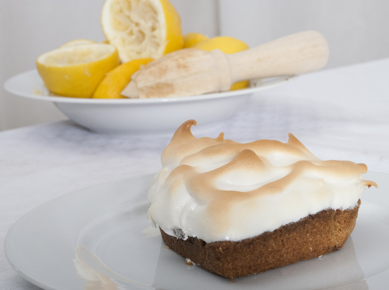 Lemon Meringue Pie  Healthy lemon meringue pie