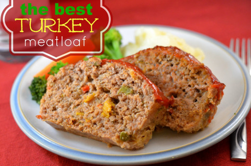 Meatloaf Recipe Best  best turkey meatloaf recipe in the world