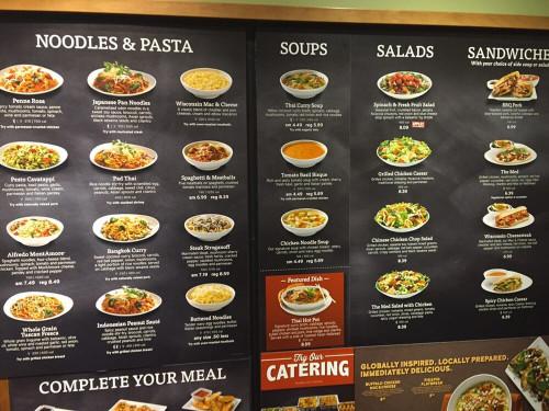Noodles And Company Menu  Menu board