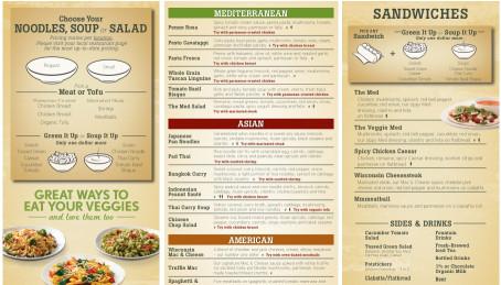Noodles And Company Menu  Noodles And pany Menu Nutrition