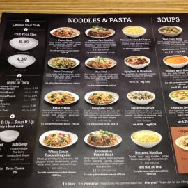 Noodles And Company Menu  Noodles & pany Noodle House