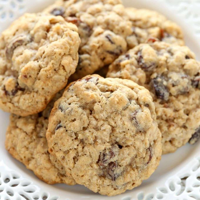 Oatmeal Raisin Cookies  Soft and Chewy Oatmeal Raisin Cookies