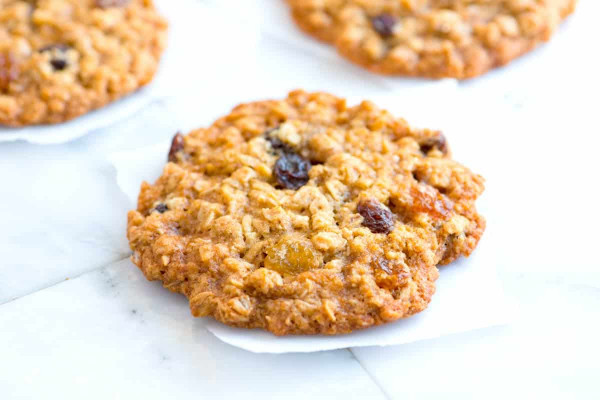 Oatmeal Raisin Cookies  Soft and Chewy Oatmeal Raisin Cookies Recipe