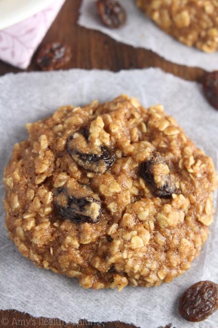 Oatmeal Raisin Cookies  The Ultimate Healthy Soft & Chewy Oatmeal Raisin Cookies