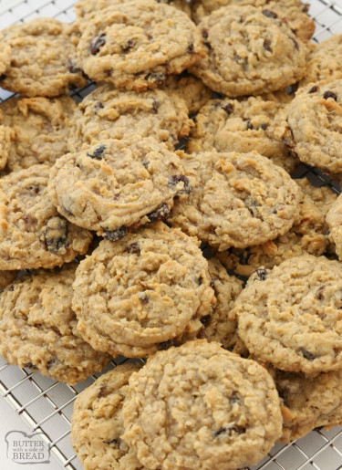 Oatmeal Raisin Cookies  BEST EVER OATMEAL RAISIN COOKIES Butter with a Side of Bread