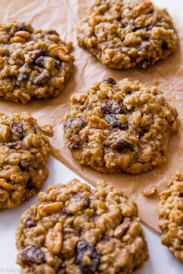 Oatmeal Raisin Cookies  Soft & Chewy Oatmeal Raisin Cookies Sallys Baking Addiction