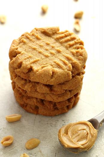 Peanut Butter Cookies  Flourless Peanut Butter Cookies