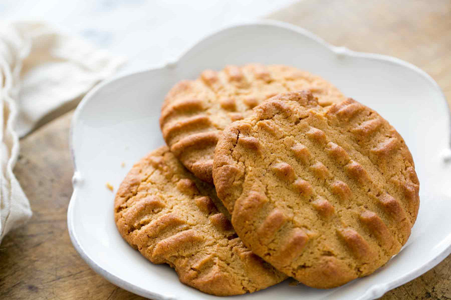 Peanut Butter Cookies  Easy Peanut Butter Cookies Homemade