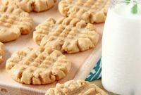 Peanut butter Cookies Inspirational Old Fashioned Peanut butter Cookies