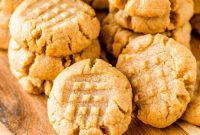 Peanut butter Cookies Luxury 4 Ingre Nt Peanut butter Cookies Homemade Hooplah