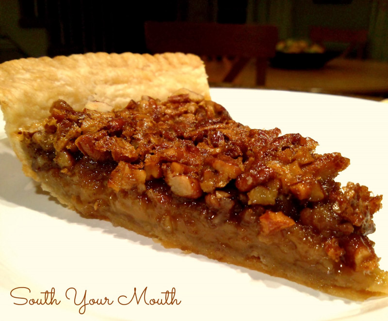 Pecan Pie Recipe  South Your Mouth Classic Pecan Pie