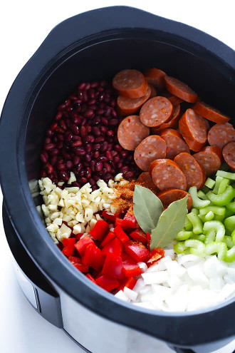 Red Beans And Rice  Crock Pot Red Beans and Rice