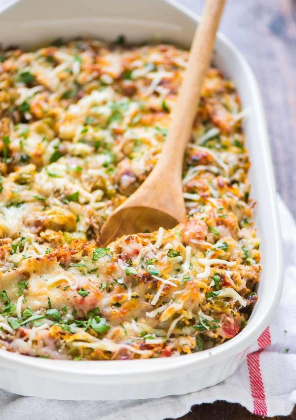 Spaghetti Squash Recipes  Spaghetti Squash Casserole
