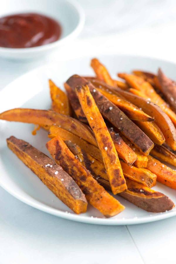 Sweet Potato Fries  Easy Homemade Baked Sweet Potato Fries Recipe