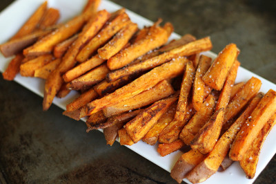 Sweet Potato Fries  Oven Baked Sweet Potato Fries with Fry Sauce