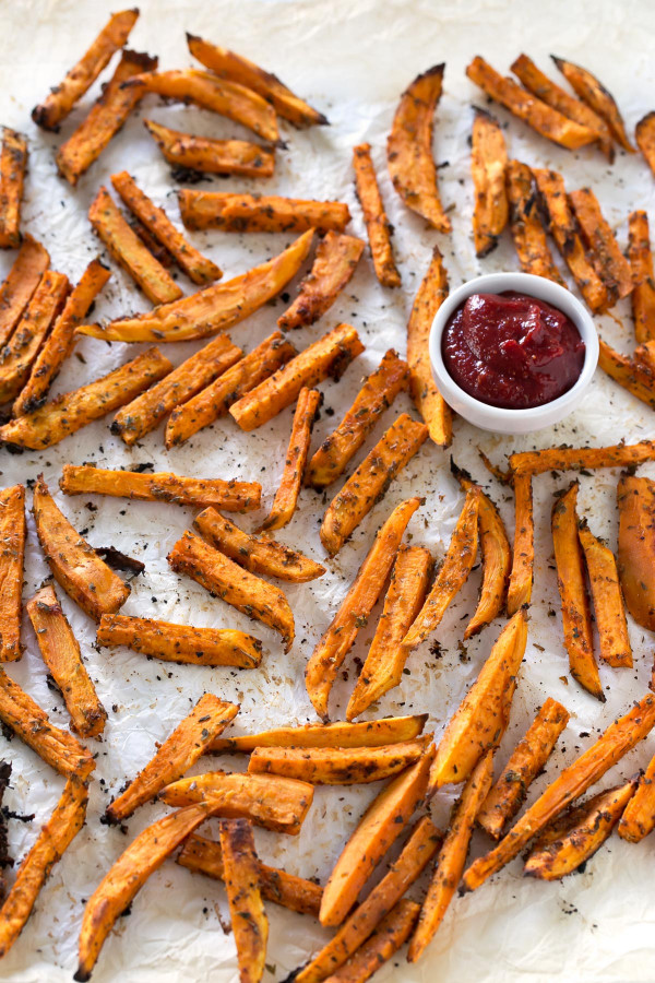 Sweet Potato Fries  Baked Sweet Potato Fries Simple Vegan Blog