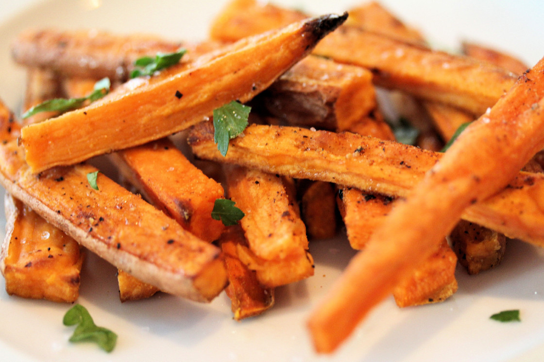 Sweet Potato Fries  Sweet Potatoes Ain't Nothin' Better—Literally