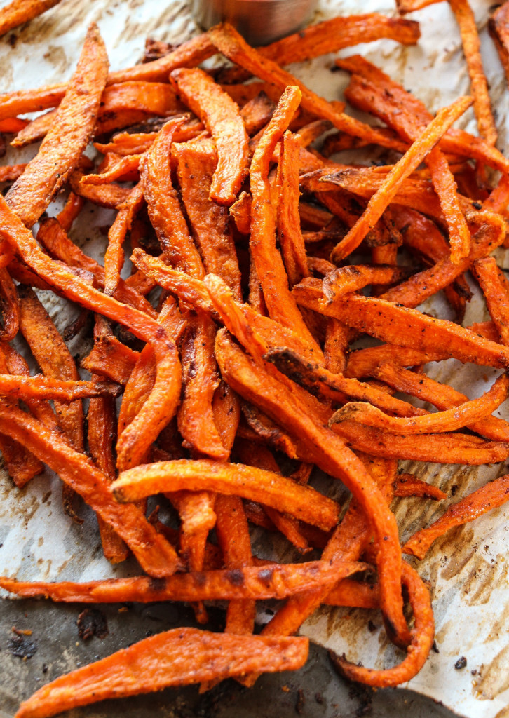 Sweet Potato Fries  Extra Crispy Baked Sweet Potato Fries Layers of Happiness