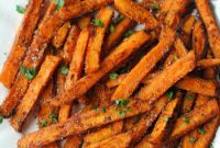 Sweet Potato Fries New Sweet and Spicy Sweet Potato Fries Eat Yourself Skinny