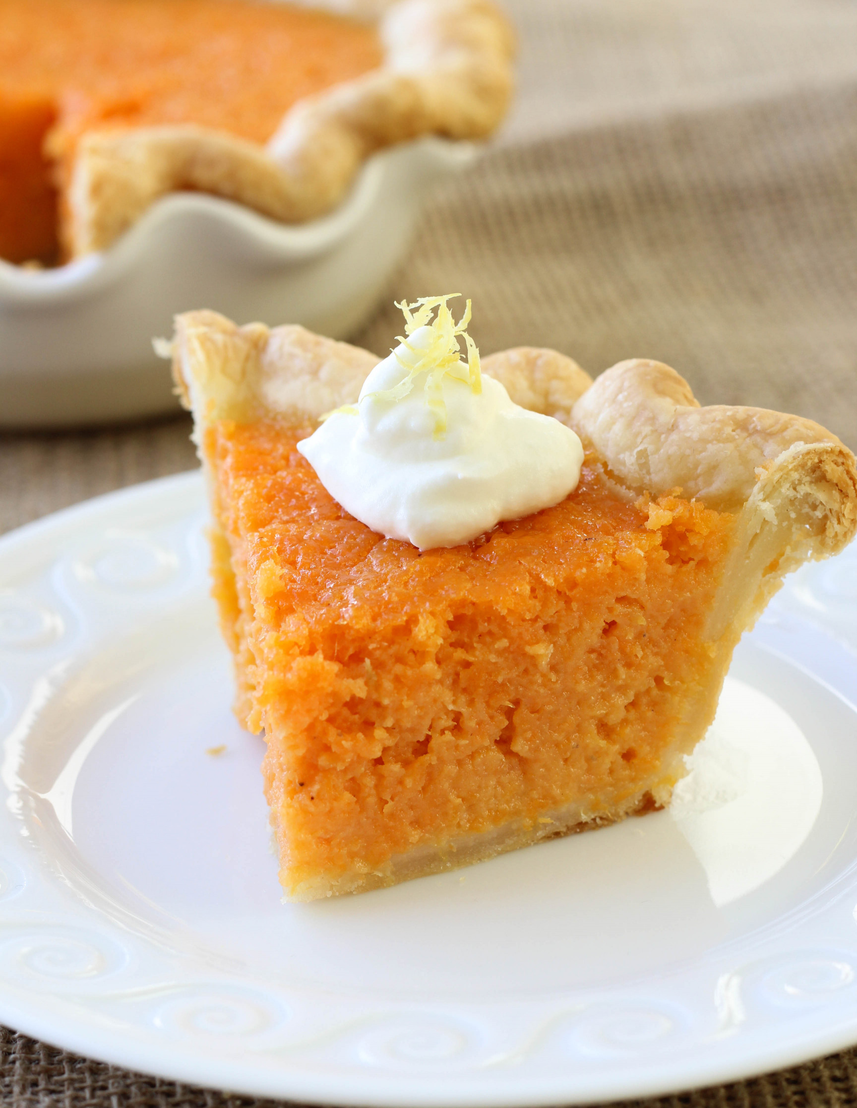 Sweet Potato Pie  Mary Randolph's Sweet Potato Pie American Heritage Cooking