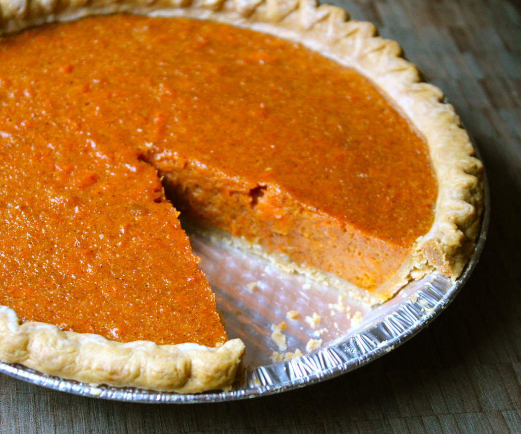Sweet Potato Pie  sweet potato pie with canned yams and condensed milk