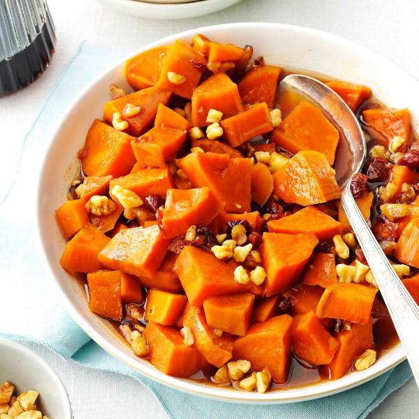 Sweet Potato Recipes  Maple Walnut Sweet Potatoes Recipe
