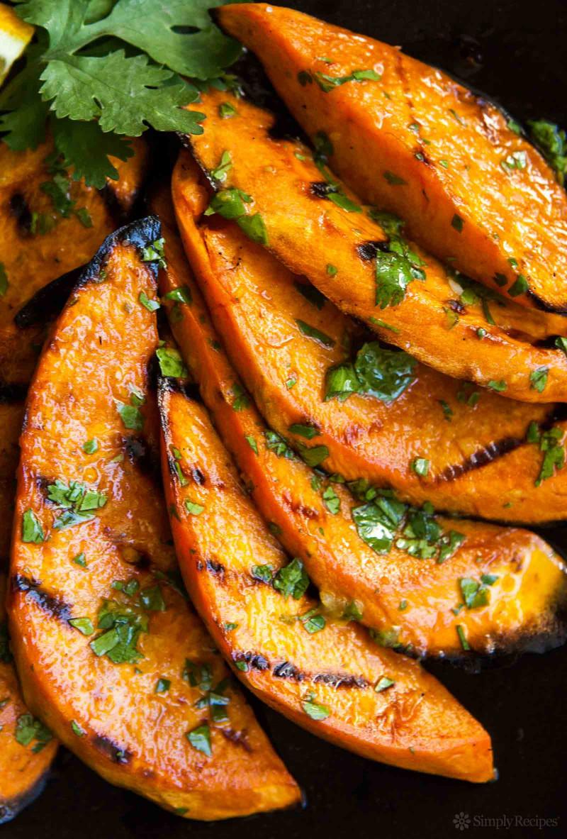 Sweet Potato Recipes  Grilled Sweet Potatoes Recipe