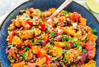 Sweet Potato Recipes New Roasted Sweet Potato Quinoa Black Bean Salad