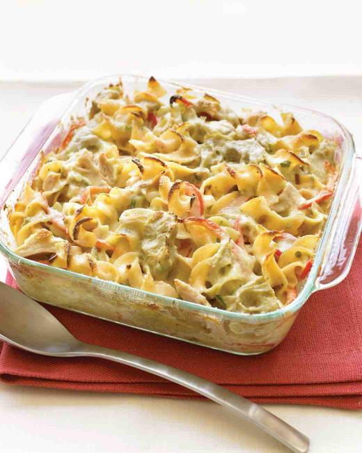 Tuna Noodle Casserole  Mediterranean Tuna Noodle Casserole Recipe