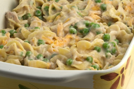 Tuna Noodle Casserole  Serious fort Tuna Noodle Casserole Recipe Pinch My Salt