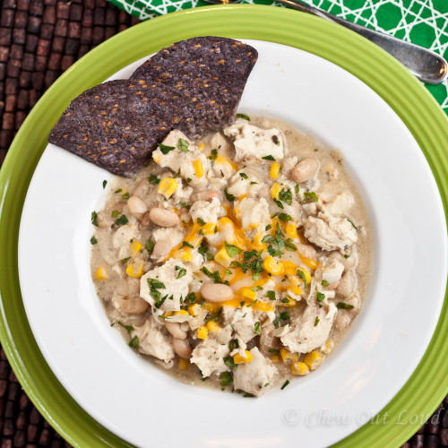 White Chicken Chili  Hearty White Chicken Chili Chew Out Loud