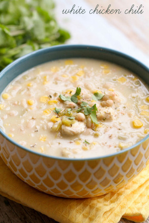 White Chicken Chili  Easy Chicken Chili