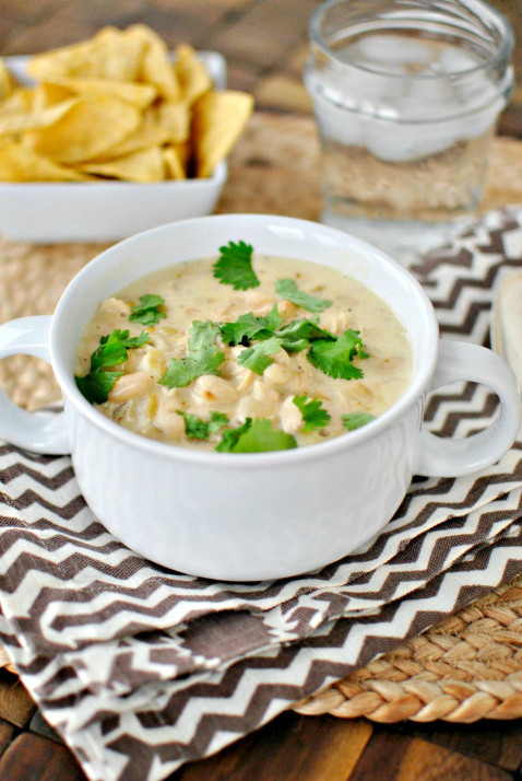 White Chicken Chili  Simply Scratch Creamy White Chicken Chili Simply Scratch