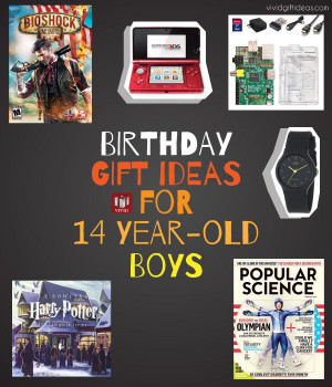 14 Year Old Birthday Gift Ideas  Birthday Gift Ideas for 12 13 or 14 Year Old Boy He ll