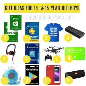 14 Year Old Birthday Gift Ideas  The Best Gift Ideas for 15 Year Old Boys That Also Make