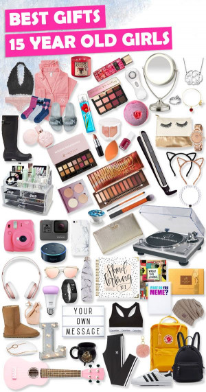 14 Year Old Birthday Gift Ideas  Gifts for 15 Year Old Girls