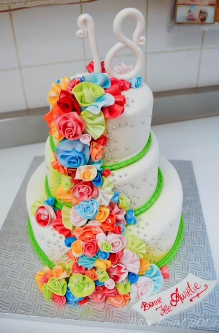 18Th Birthday Cake  18Th Birthday Cake CakeCentral