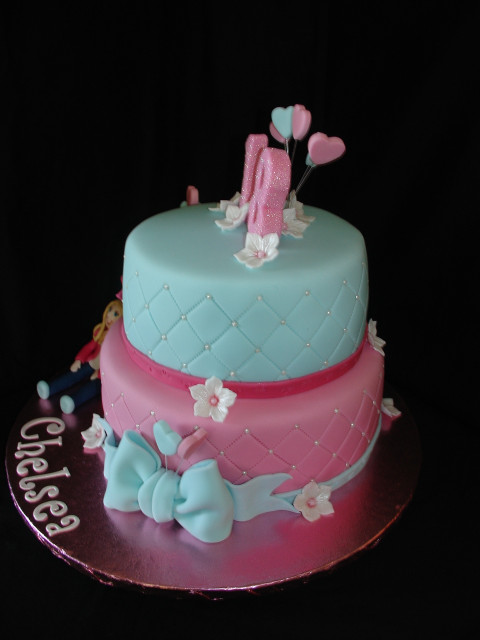 18Th Birthday Cake  18Th Birthday Fondant Cake CakeCentral