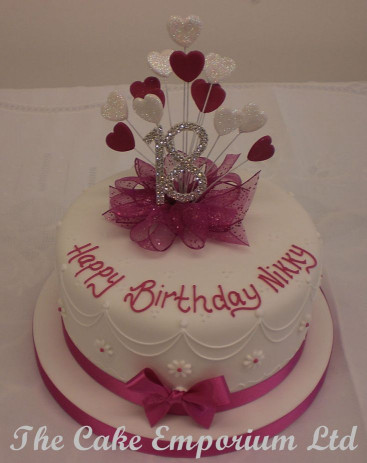 18Th Birthday Cake  17 Best ideas about 18th Birthday Cake on Pinterest