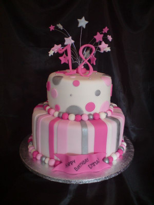 18Th Birthday Cake  18th birthday cakes