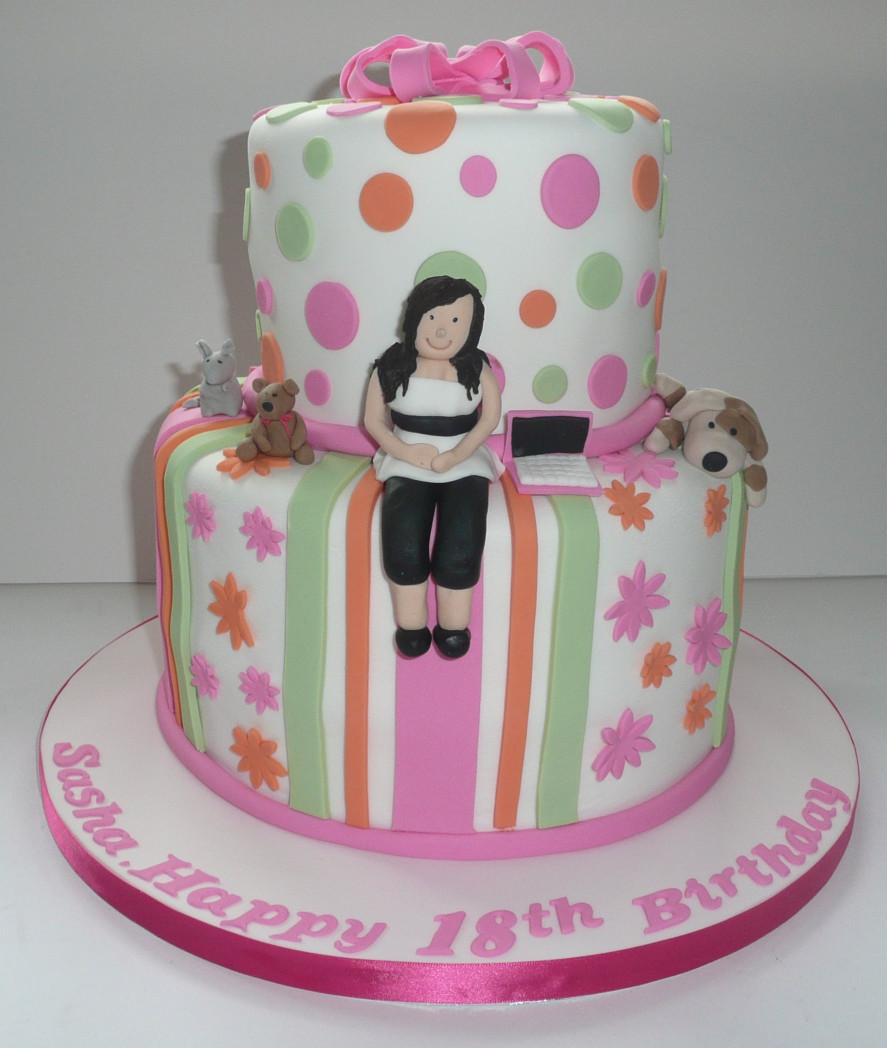 18Th Birthday Cake  18th Birthday Cakes