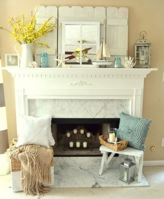 35 Captivating Mantle Beach themes Décor Ideas for Summer Awesome Best 25 Fireplace Mantel Decorations Ideas On Pinterest