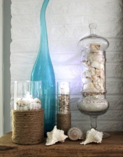 35 Captivating Mantle Beach themes Décor Ideas for Summer Beautiful 55 Delicate and Beautiful Beach Inspired Mantels Digsdigs