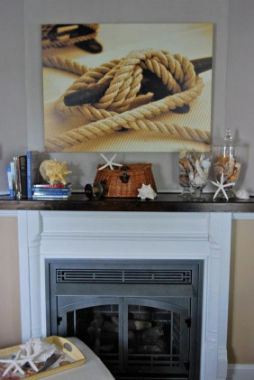 35 Captivating Mantle Beach themes Décor Ideas for Summer Beautiful Sailboats Nautical and Fireplaces On Pinterest