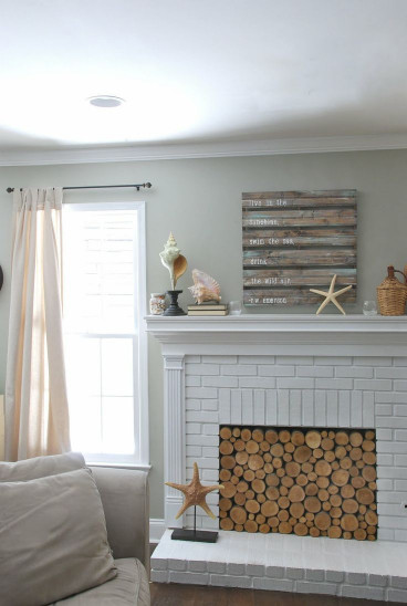 35 Captivating Mantle Beach themes Décor Ideas for Summer Inspirational 20 Nature Loving Fireplace Ideas