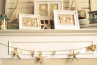 35 Captivating Mantle Beach themes Décor Ideas for Summer Inspirational Beach themed Mantle Beach theme