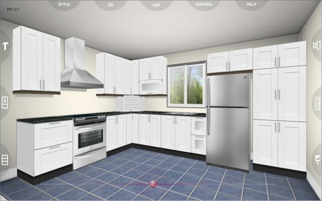 3D Kitchen Design  Eurostyle Kitchen 3D design 2 2 0 APK Download Android